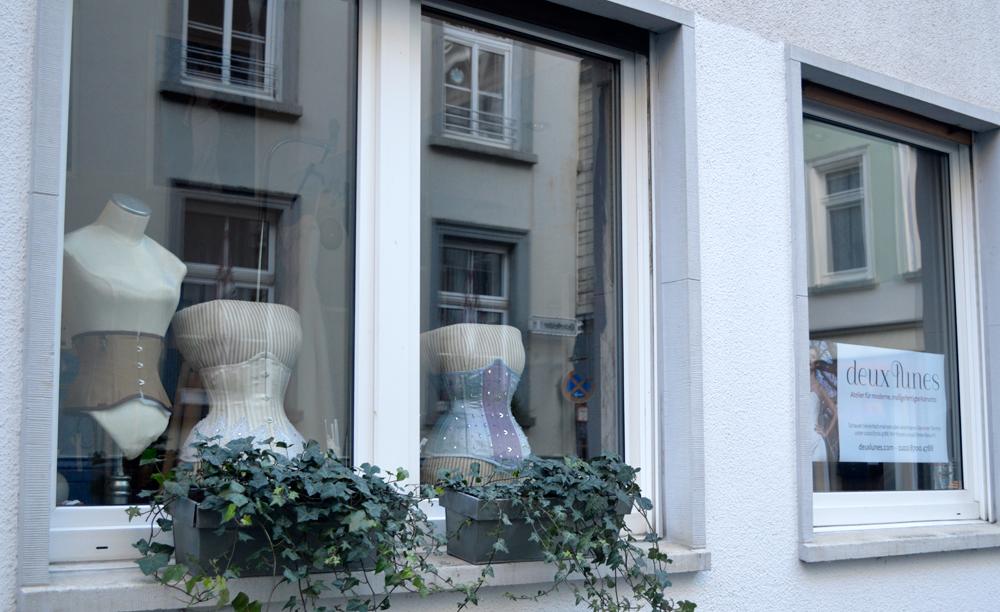 front window - deux lunes atelier - Wuppertal, Deutschland