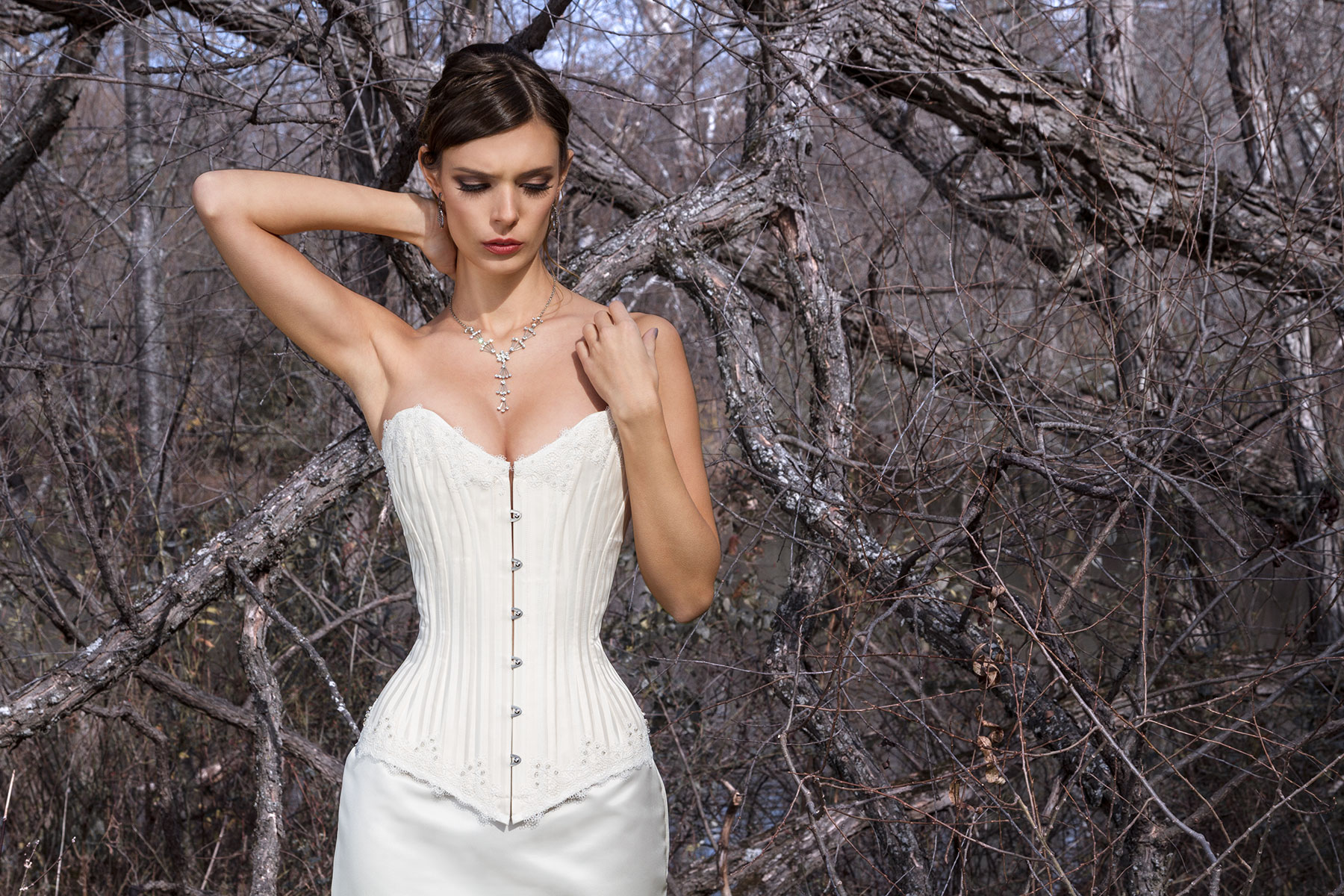 "the classic - collection ""winter"" - deux lunes corsets"