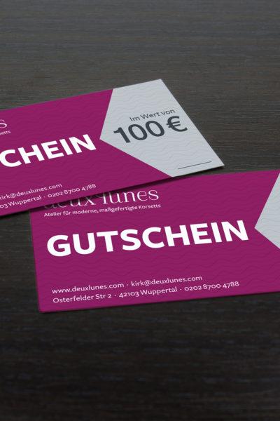 deux lunes Gutschein